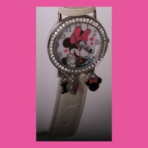 Disney Accessories - Minnie Mouse w/Dangling Charms Watch